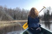 Canoe trip for single people