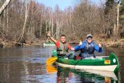 Canoe trip in Estonia