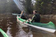 Estonian canoe trip