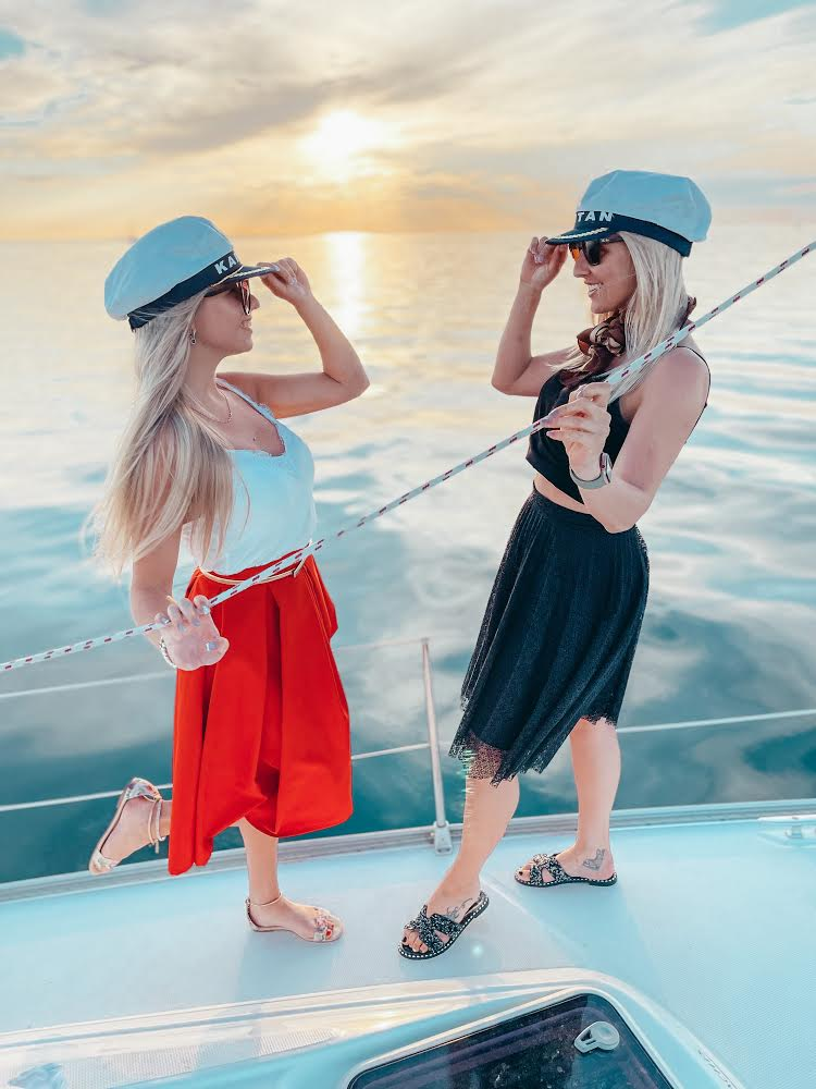 Sailing on the healthy Baltic Sea