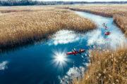 Canoe paddling kayak