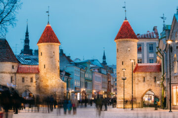 Visit Estonia Estland Travel Tallinn city tour