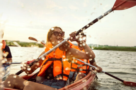 Visit Estonia Canoe trip Estland Travel